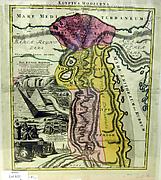 Aegyptus Hodierna, Map of Egypt