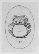 Design for a Ring Watch, from Livre d'Aneaux d'Orfevrerie