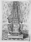 Festival for Saint Placidus, Messina, August 2, 1589: Fireworks Obelisk
