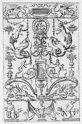 Grotesque Panel, from the Petites Grotesques