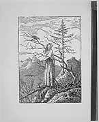 Woman with a Raven (Die Frau mit dem Raben am Abgrund)