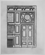 Porte et Cheminée de la Salle du Billard à Versailles