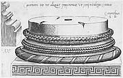 Speculum Romanae Magnificentiae: Corinthian base