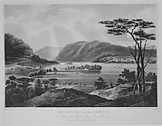 View from Fishkill Looking To Westpoint (The Hudson River Portfolio, plate 15)
