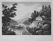 View Near Fishkill (The Hudson River Portfolio, plate 16 or 17)
