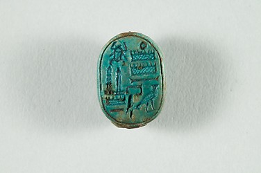 Scarab Commemorating Two Obelisks of Thutmose III