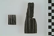 Fragment of burned ivory furniture