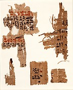 Two papyrus fragments