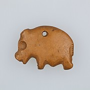 Amulet in the form of a hippo