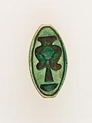 Cowroid with a Hathor emblem