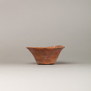 White Cross-lined Ware Bowl