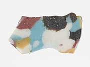 Fragment of a Dish of Polychrome Mosaic Glass