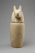 Canopic jar with head of jackal (Duamutef)