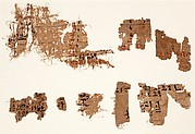 Nine fragments of hieratic text