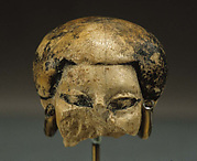 Head of statuette