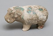 Hippopotamus figurine