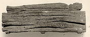 Shabti on coffin form