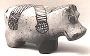 Figurine of hippopotamus