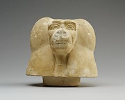 Canopic jar lid with head of a baboon (Hapy)