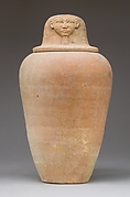 Canopic Jar with an Image Representing the Hieroglyph for Face