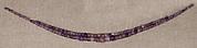 String of Amethyst Ball Beads