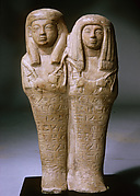 Double Shabti of Khaemwaset and Mesyt