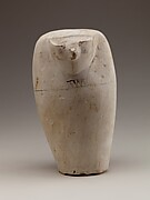 Dummy Canopic Jar with the Head of Qebehsenuef