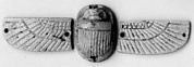 Scarab, winged