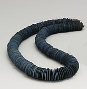 Strand of lentoid Beads