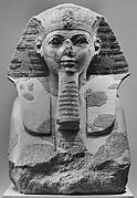 Head and Shoulders of a Sphinx of Hatshepsut
