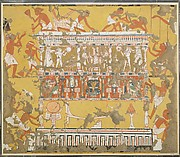 Building a Catafalque, Tomb of Ipuy