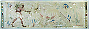 Man Confronting a Wild Dog, Tomb of Amenemhab