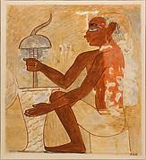 Drilling a Stone Vase, Tomb of Rekhmire