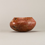Red polished ware bowl