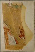 Facsimile painting from the temple of Mentuhotep II