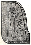 Fragment of a Shroud Depicting Isis