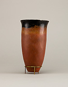 Black-topped red ware beaker