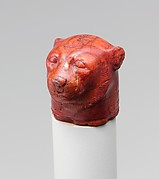 Head of a Leopard with the Name of Hatshepsut