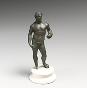Statuette of Herakles holding apples