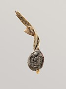 Seal Impression Attatched to a Fiber Tie from Tutankhamun's Embalming Cache