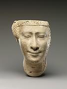 Partial female head