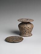 Kohl jar with lid