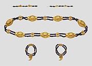 Feline-Headed Girdle, Anklets, and Bracelets of Princess Sithathoryunet