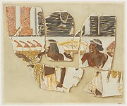 Asians Bringing Gifts from the East, Tomb of Puyemre