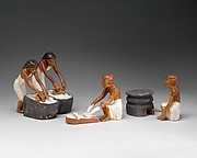 Bakers and Brewers from Meketre's Model Bakery and Brewery