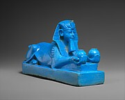 Sphinx of Amenhotep III, possibly from a Model of a Temple