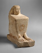 Block Statue of Ankhwennefer