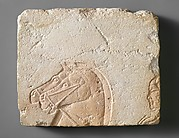 Heads of Two Horses and a Charioteer