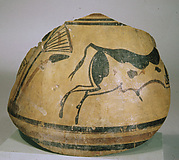 Bowl with a bull
