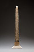 Model of the New York Obelisk (